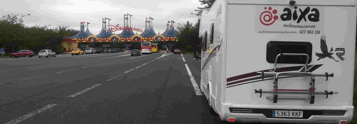 Disney en autocaravana de alquiler
