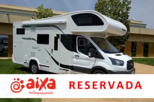 Autocaravanas Aixa - S340 UP - RESERVADA