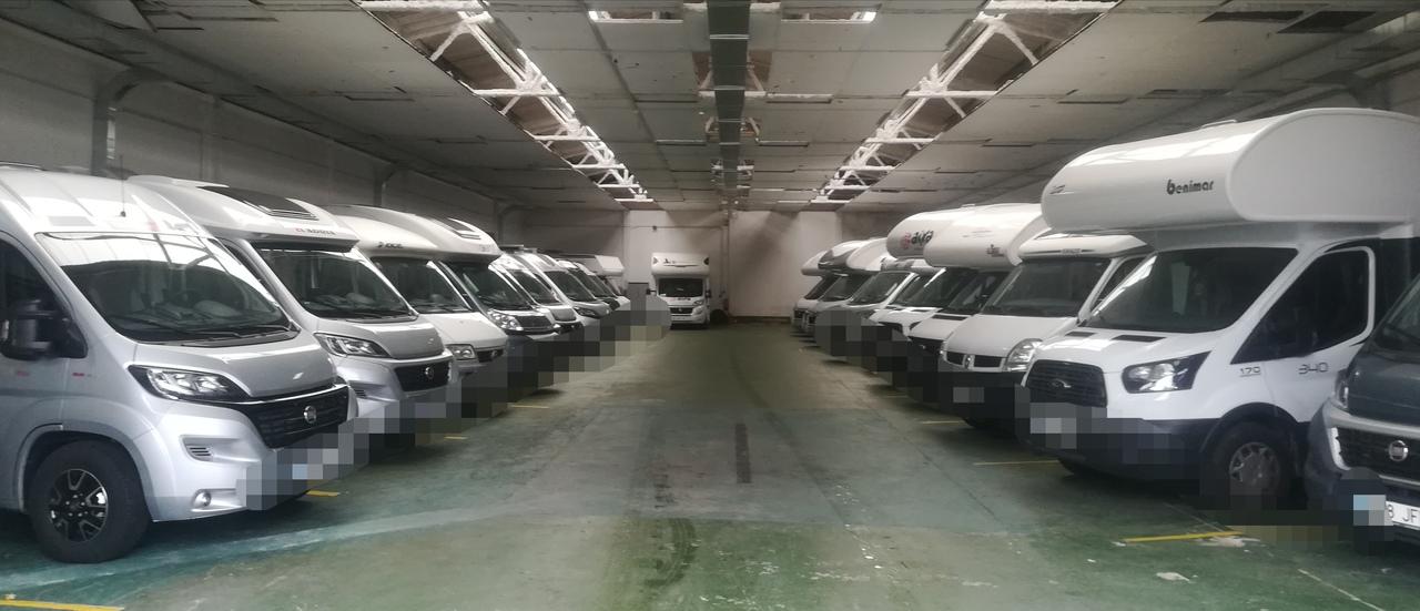 Parking para autocaravanas Pamplona